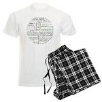How to say Bon appetit - Gree Men's Light Pajamas
