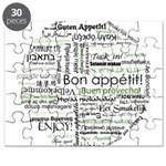 How to say Bon appetit - Gree Puzzle
