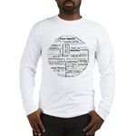 How to say Bon appetit - Gree Long Sleeve T-Shirt