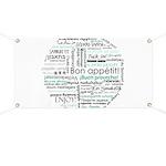 Bon appetit around the world Banner