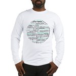 Bon appetit around the world Long Sleeve T-Shirt