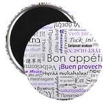 World Foods Dining Etiquette Magnet