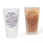 World Foods Dining Etiquette Drinking Glass