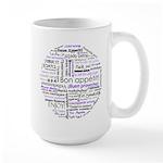 World Foods Dining Etiquette Large Mug