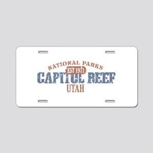 Capitol Reef National Park UT Aluminum License Pla