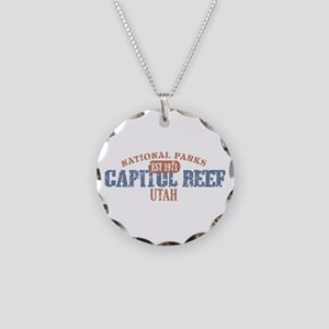 Capitol Reef National Park UT Necklace Circle Char