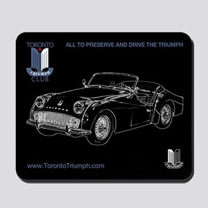 Toronto Triumph Club TR3 Mousepad