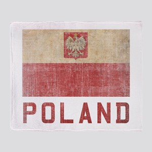 Vintage Poland Throw Blanket