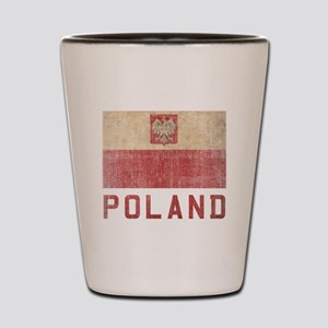 Vintage Poland Shot Glass