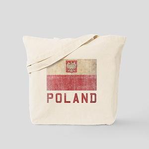 Vintage Poland Tote Bag