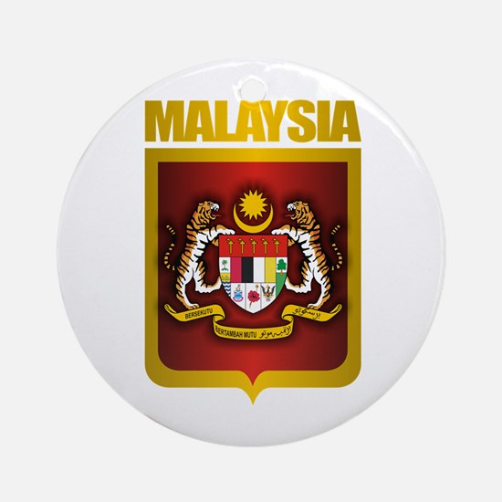 """Malaysia COA"" Ornament (Round)"