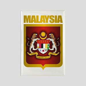 """""""Malaysia COA"""" Rectangle Magnet"""