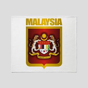 """Malaysia COA"" Throw Blanket"