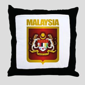 """""""Malaysia COA"""" Throw Pillow"""