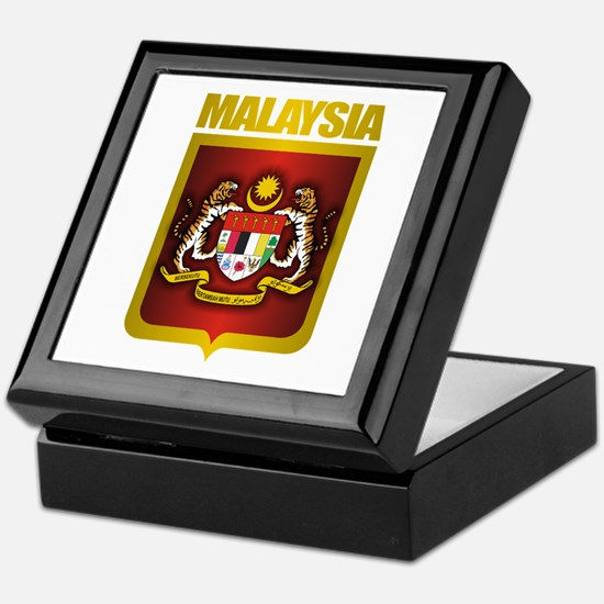 """Malaysia COA"" Keepsake Box"