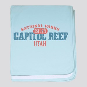 Capitol Reef National Park UT baby blanket