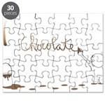 Cute Drip Guy Painting Chocol Puzzle