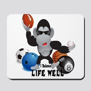 Balance Sport life Mousepad