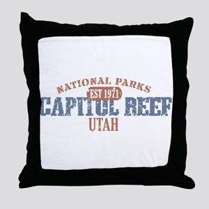 Capitol Reef National Park UT Throw Pillow