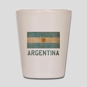 Vintage Argentina Shot Glass