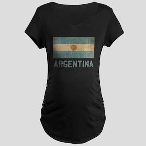 Vintage Argentina Maternity Dark T-Shirt