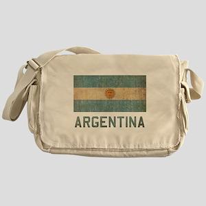 Vintage Argentina Messenger Bag