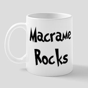 Macrame Rocks Mug