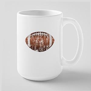 Football - Distressed Large Mug