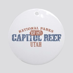 Capitol Reef National Park UT Ornament (Round)