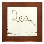 Cute Drip Guy Painting Tea Framed Tile