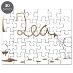 Cute Drip Guy Painting Tea Puzzle