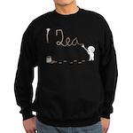 Cute Drip Guy Painting Tea Sweatshirt (dark)