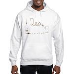Cute Drip Guy Painting Tea Hooded Sweatshirt