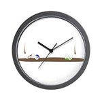 Drip guy swimming Wall Clock