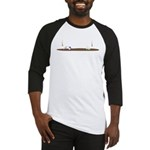 Drip guy swimming Baseball Jersey