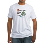 Occupy Wall Street Fitted T-Shirt