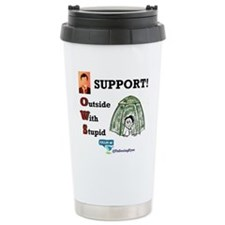 Occupy Wall Street Stainless Steel Travel Mug