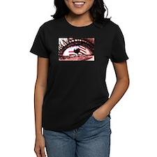 Women's Looking Forward Dark T-Shirt