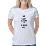 Keep Calm and Shred On Women's Classic T-Shirt