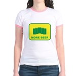 More Beer Jr. Ringer T-Shirt