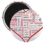 Words for Love in different l Magnet