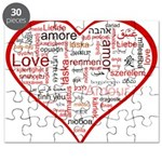 Words for Love in different l Puzzle