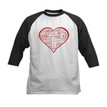Words for Love in different l Kids Baseball Jersey