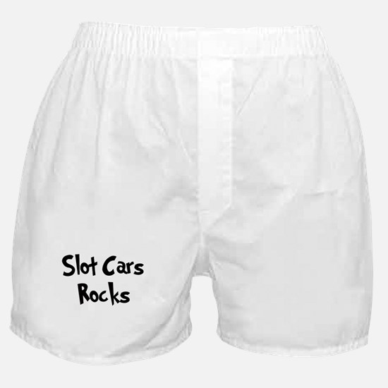 Slot Cars Rocks Boxer Shorts