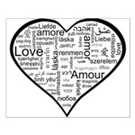 Love in many languages Small Poster