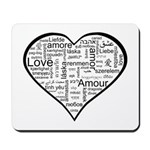 Love in many languages Mousepad
