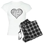 Love in many languages Women's Light Pajamas