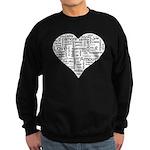 Love in many languages Sweatshirt (dark)