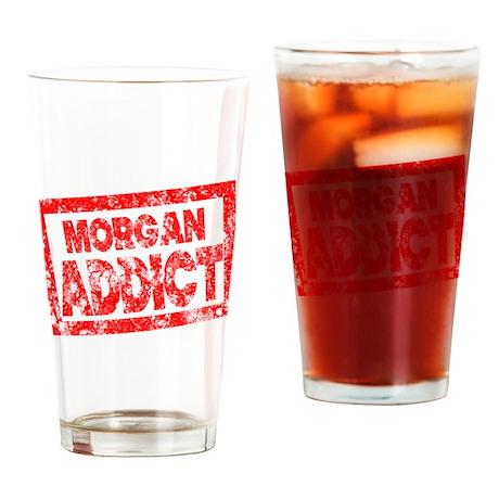 Morgan ADDICT Drinking Glass