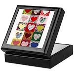 Heart Quilt Pattern Keepsake Box
